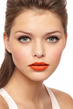 orange lips