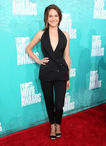 Shailene Woodley in Stella McCartney