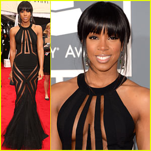kelly-rowland-grammy-awards-2013-red-carpet
