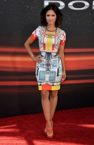 Get-the-Look-Rocsi-Diaz-Fast-and-Furious-Los-Angeles-Premiere-Clover-Canyon-Print-Dress-and-Jimmy-Choo-Sandals