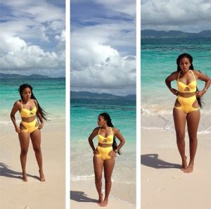 Angela-Simmons-in-Andrea-Iyamah-2013-Swimwear-June-2013-BellaNaija004