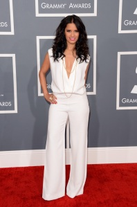 rocsi-diaz-grammy-2013-red-carpet