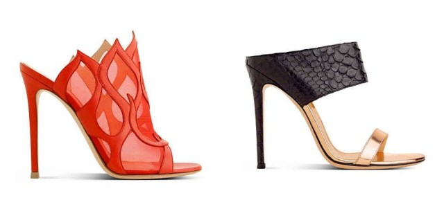 Gianvito-Rossi-Red-Leather-Flame-Mules-Spring-2014