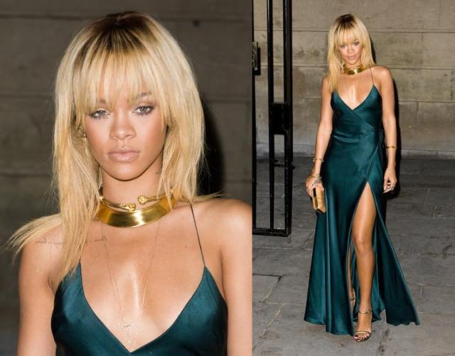 Rihanna in Giorgio Armani 1